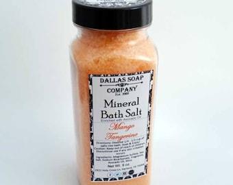 Mango Tangerine Mineral Bath Salts