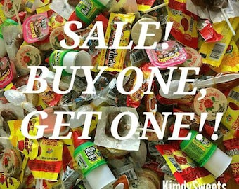 BOGO Mexican candy mix, 15, 30 or 45 pieces!!