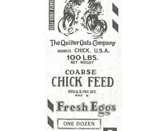 Quilting Treasures 'Feed Sak' Fabric By The Yard; Fowl Play by J. Wecker Fisch, 1649-26467-E