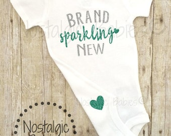 Brand Sparkling Baby outfit, New Baby Outfit, Newborn Outfit, Newborn Hospital outfit,Bringing Home Baby Outfit, Baby Girl Going Home Outfit