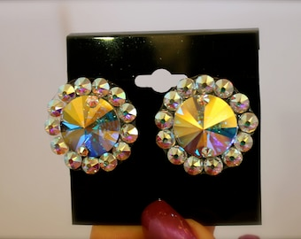Swarovski Smooth Ballroom Earrings