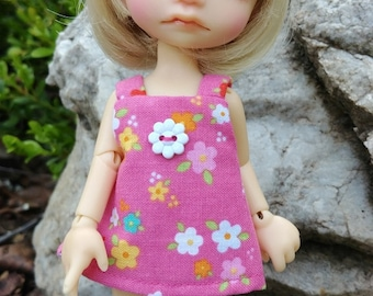 FLOWERS ON PINK   made to fit Irrealdoll (Ino, Enyo, Dryo) by Darla