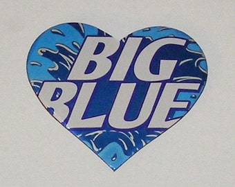 1 Heart Magnet - Big Blue Soda Can (replica)