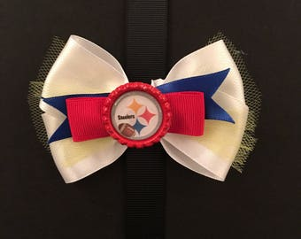 Pittsburgh Steelers Football Bow
