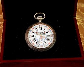 Vintage Farmer Pocket Watch