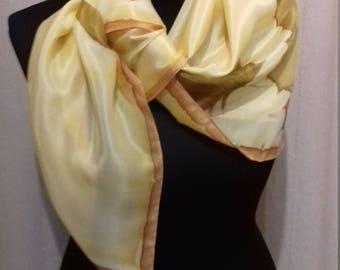 Scarf Schaltuch silk scarf hand Painted