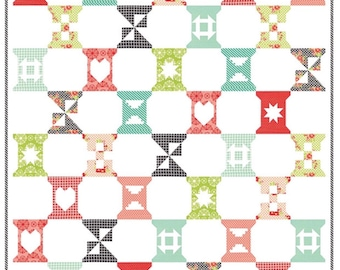 Sale Handmade quilt kit by Bonnie and Camille for Moda fabric