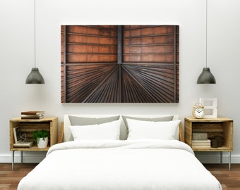 sublime // abstract photography canvas print // large abstract wall art // abstract art print // wood architecture photography // bali