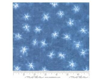 Yuki Raito ~Mizu Jmed/Dk Blue 48021-12 Cotton Fabric By Debbie Maddy For Moda