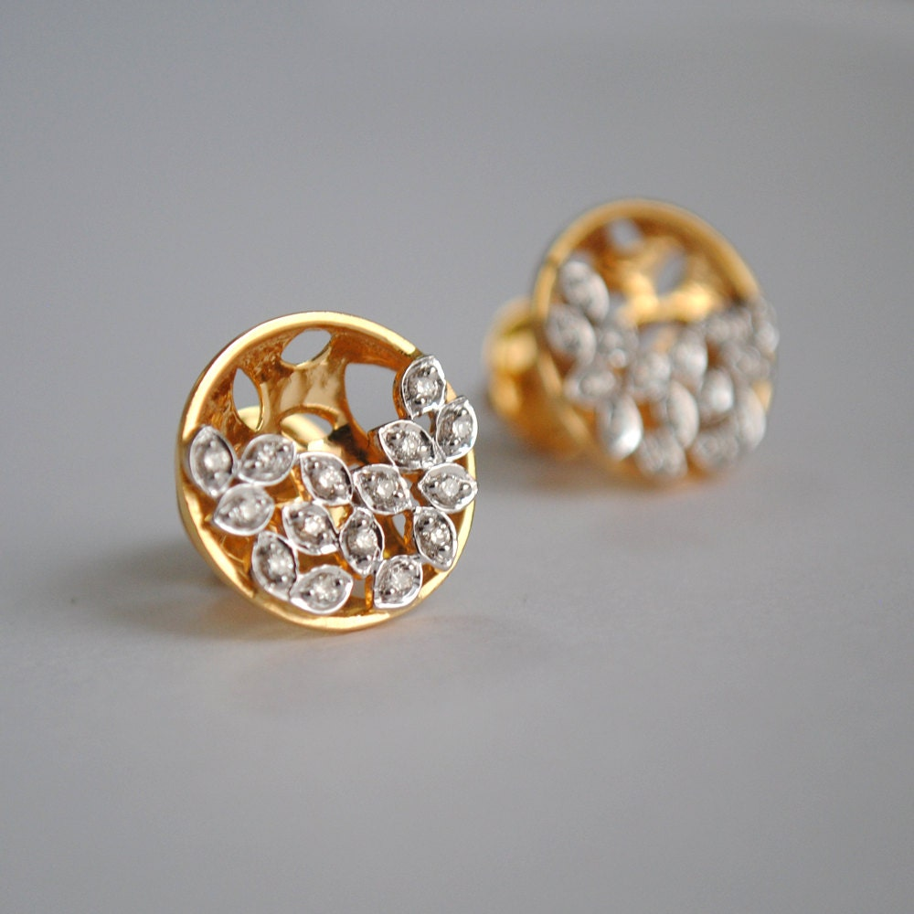 diamond white earrings stud gold zoom real listing studs tiny fullxfull small il