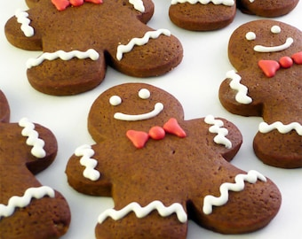 Decorated Gingerbread Men - 1 dozen