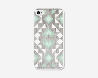 iPhone 6 Case Mint iPhone 5 Case iPhone 5c Case Geometric Phone Case iPhone 6s Plus Case Wood Case Mint Phone Case Samsung Galaxy S7 Case