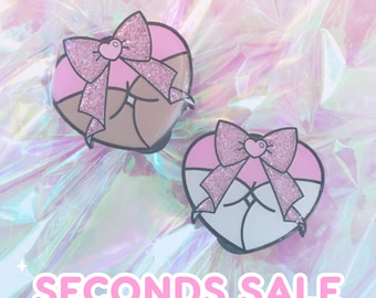 SECONDS SALE** Enamel Pins
