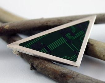 Computer Chip Brooch