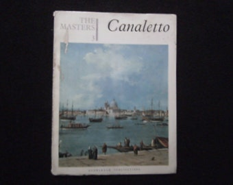 Canaletto The Masters Art Booklet  15 prints