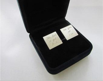 cuff links groom cufflinks gift for groom cufflinks with message groom gift cuff links for groom