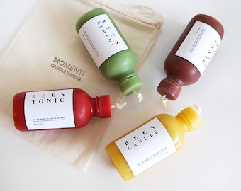 Beeswax Candle #Tonic