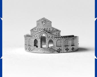 Amalfi ring, Amalfi Skyline ring, Travel ring, for him or for her
