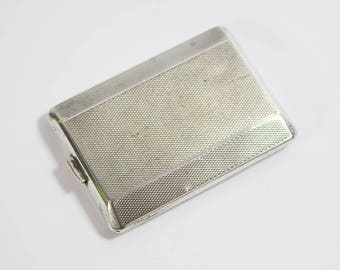 Small Sterling Silver Matchbook Match Holder Dates 1929 Has Faulty Clasp