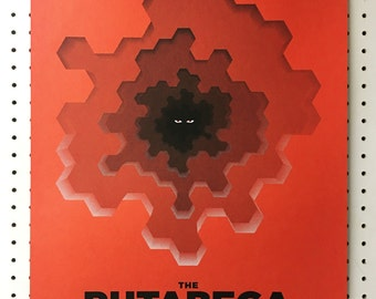 The Rutabega gig poster variant - handmade screen print