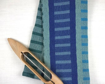 LADDERS 100% Cotton Handwoven Dish Towel