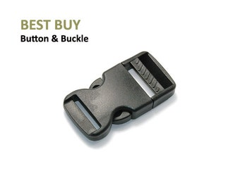 "10 pcs Plastic Side Release Buckles 1/2"", 5/8"", 3/4"", 1"", 1 1/4"" ,1 1/2"", 2""  #PH402"