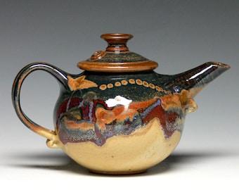 Small Teapot, Hand Thrown Teapot, Pottery Teapot, Stoneware Teapot, Ceramic Teapot
