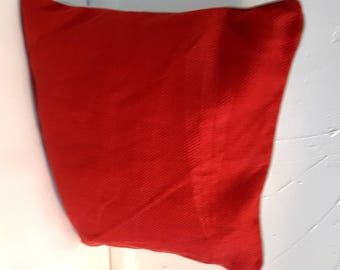 Red Pillow cover /cushion cover 22''