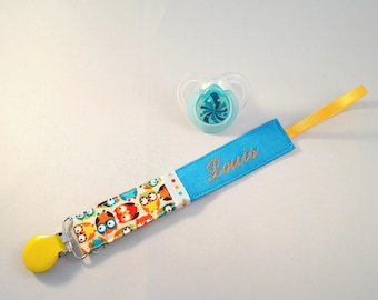 """Pacifier """"Jules"""" customization and fabric choice"""