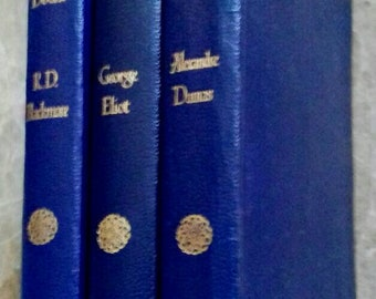 3 Classic Novels from 1930/40's - Dumas Three Musketeers - Lorna Doone by R.D.Blackmore and Adam Bede George Eliot
