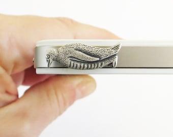 Penguin iPhone Dust Plug AntiDust Plug For Headphone Jack Cellphone/ iPhone Accessories Silver