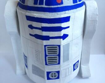 Star Wars Pinata R2D2 pinata Star Wars Party game Star Wars Birthday Party Ideas Custom Pinata
