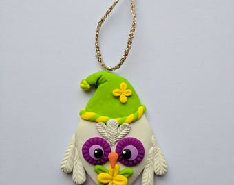 Cute Owl Christmas Tree Ornament, Christmas Decoration