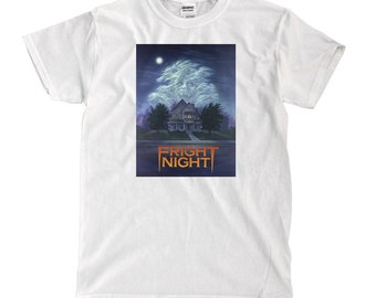 Fright Night- White T-shirt