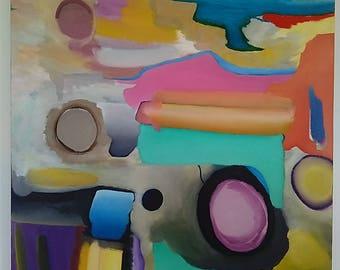 Doom Bar - An Original Abstract Oil Painting