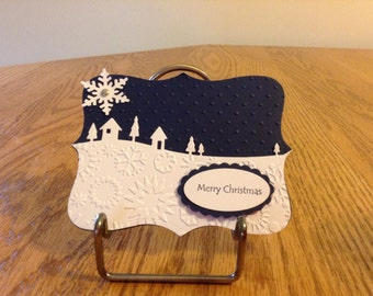 Winter Wonderland Gift Card or Money Christmas Card
