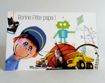 French father birthday card