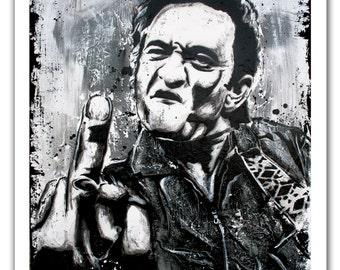 Art Print Poster 12 X 18 Johnny Cash Hello Im