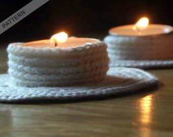Candle Holder Crochet Pattern