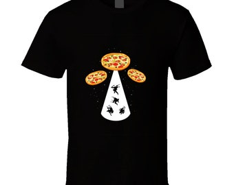 Pizza Ufo T Shirt