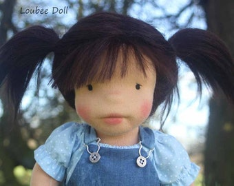 Waldorf  inspired doll called Riley