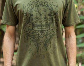 Male Fair Wear and Organic T-Shirt - Sothic Skull