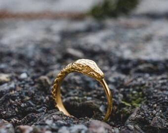 Mister Ouroboros snake ring