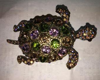 Vintage Turtle Pin
