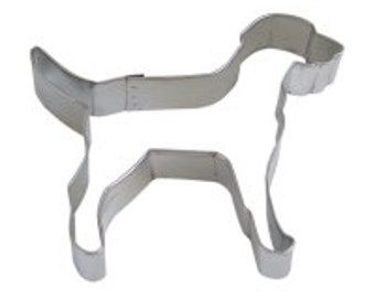 Labrador Dog Lab Cookie Cutter  4''