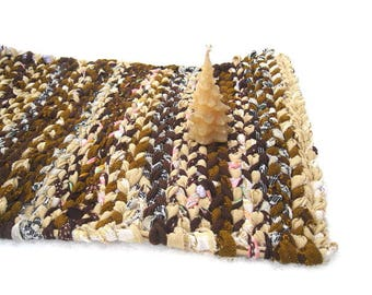 LETCHWORTH  rag weaving TaBLE RUG  Placemat