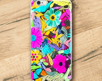 Floral Joy 2, iPhone Case