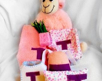 Personalized Stuffed sheep - Educational Stuffed Animal