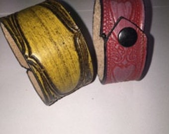Hand Made Leather Braclets