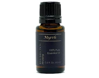 Myrrh Essential Oil (Commiphora myrrha), 100% Pure, 15 ml by RESURRECTIONbeauty